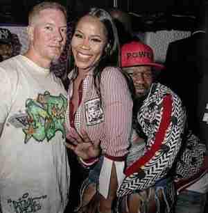 50 Cent Reportedly Smashing Reality Star, Deellishis (photos)